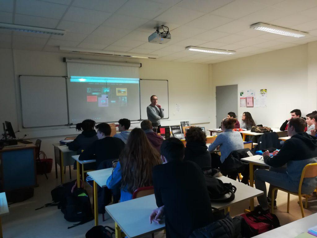 FL éditions au lycée Sorel de Honfleur
