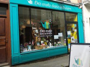 Librairie Des mots dans la theière